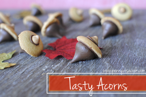 Tasty Acorns 1 DIY Fall Treats: Tasty Acorns