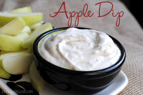 Apple Dip 1