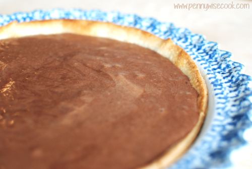 Chocolate Icebox Pie 4 Chocolate Ice Box Pie {4 Ingredients}