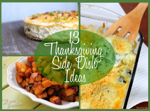 Serve Thanksgiving side dishes just as good as the turkey with these easy holiday recipes. With all your favorites—including green bean and sweet potato casseroles —you'll have the tastiest turkey day ever.