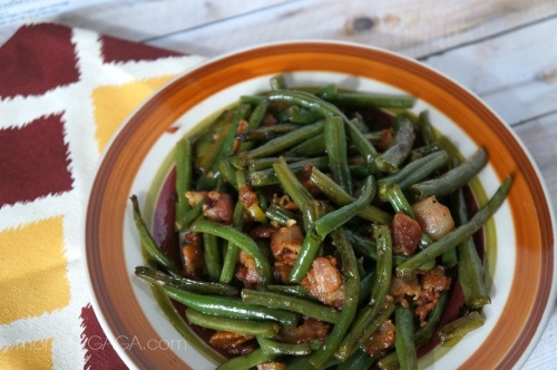 Bacon Green Beans 13 Thanksgiving Side Dish Ideas