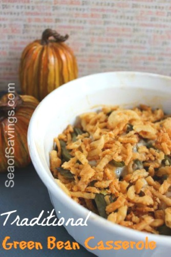 Traditional Green Been Casserole 13 Thanksgiving Side Dish Ideas