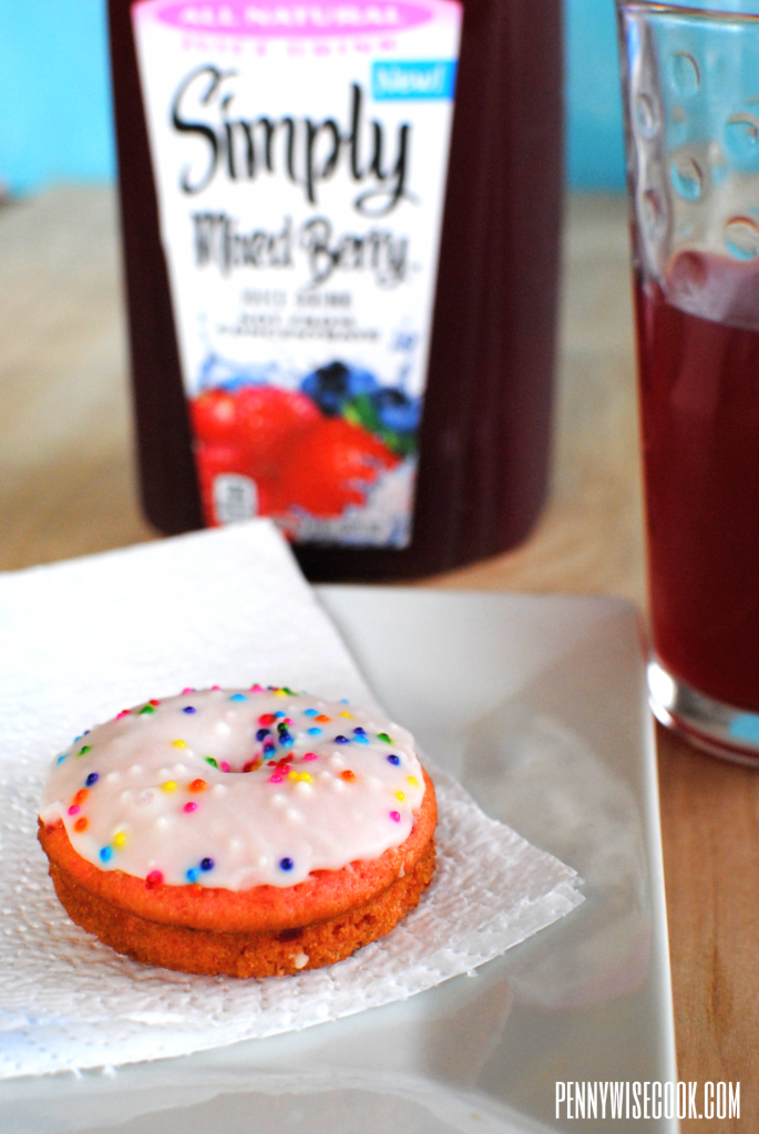 Donut 685x1024 Cake Mix Donuts and NEW Simply Juice Drinks!