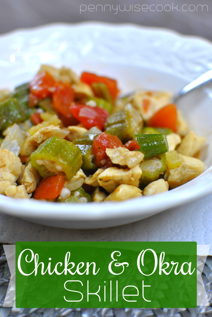 Chicken and Okra Skillet 1