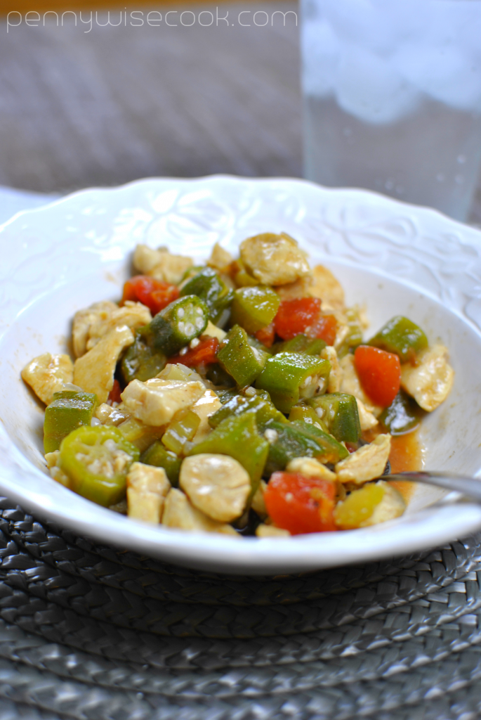 Chicken and Okra Skillet 2